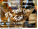 PARTY PRIVATO L'APERITIVO IN VILLA PEREO